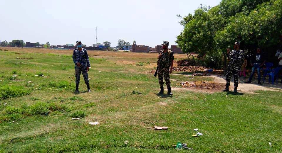 सीमा सुरक्षा पोष्टमा फेरि भारतीय समूहद्वारा आक्रमण, एक राउण्ड हवाई फायर