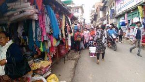 ललितपुर महानगर भित्र फुटपाथ पसल निषेध
