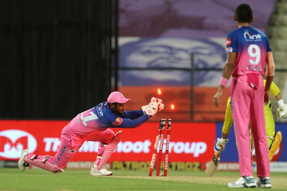 राजस्थानसँग चेन्नई सुपर किंग्स ७ विकेटले पराजित