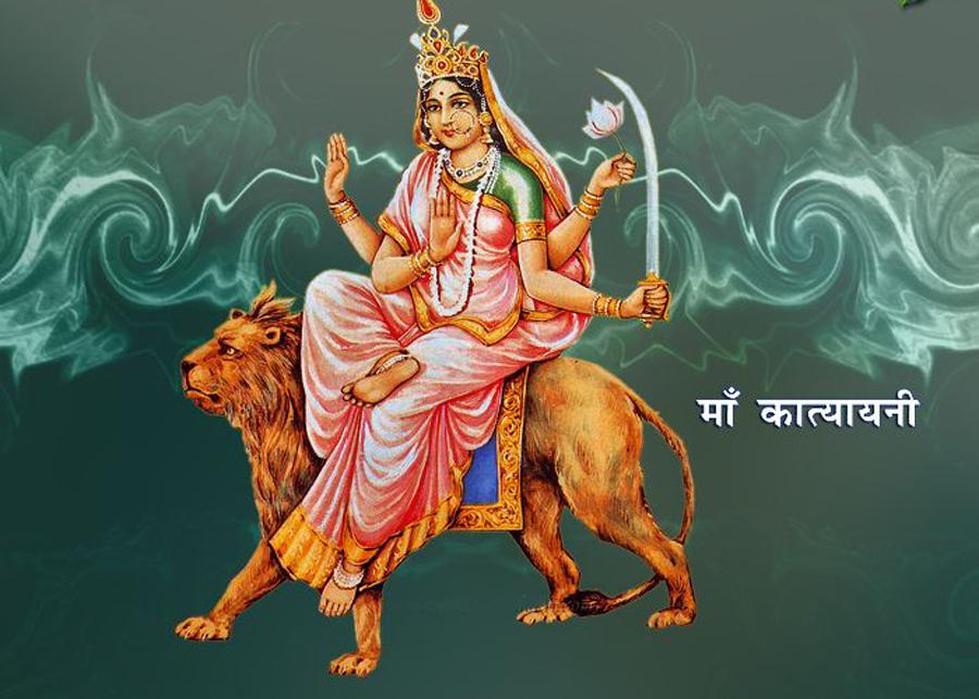 आज नवरात्रको छैटौँ दिन, कात्यायनीको पूजा आराधना गरिँदै