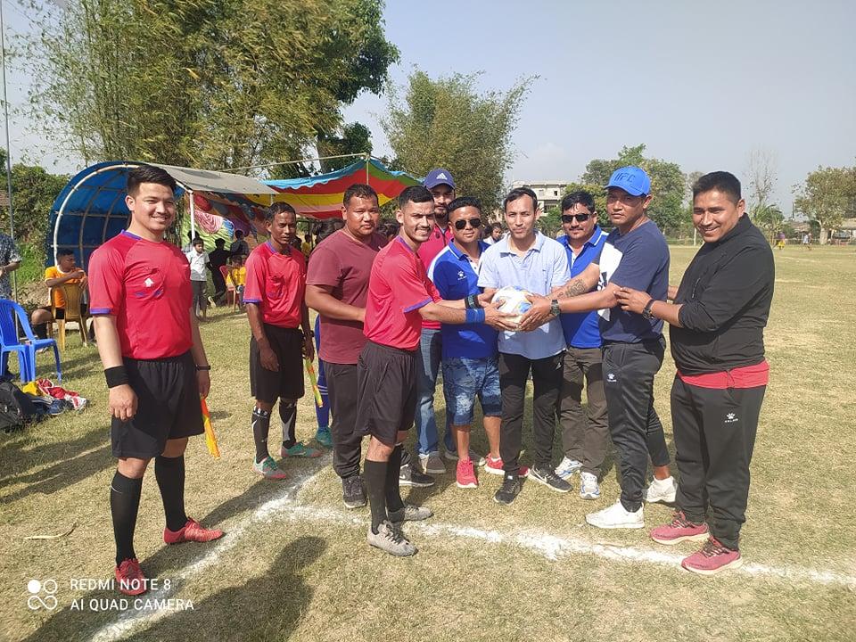 धनगढी मेयर उपमेयर कप फुटबलः वडा नम्बर १ र ७ विजयी