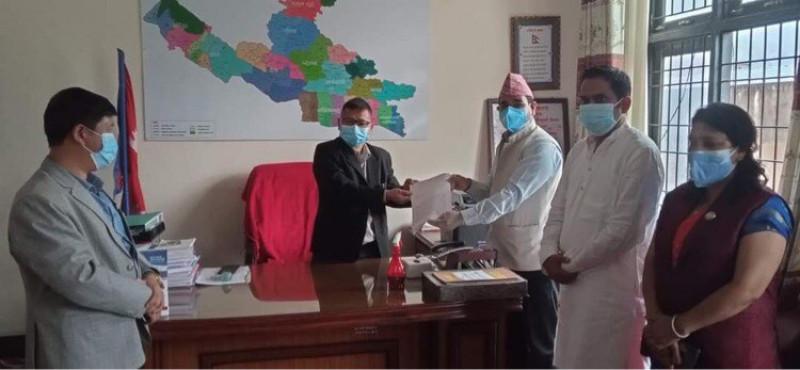 लुम्बिनीका मुख्यमन्त्री पोखरेलविरुद्ध अविश्वास प्रस्ताव दर्ता (प्रस्तावसहित)