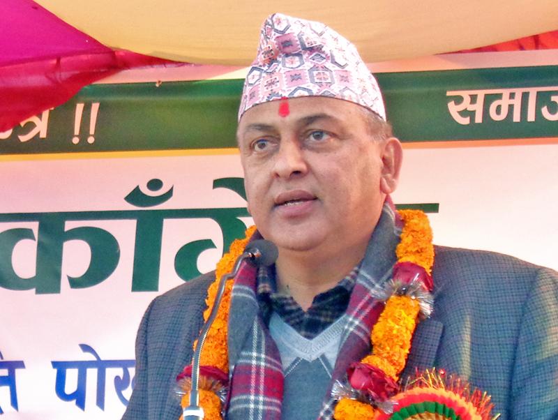 """""""संघियता तुरुन्त खारेज गरौं, नेपाललाई सनातन हिन्दु राष्ट्र बनाउँ"""" – कांग्रेस नेता भण्डारी"""