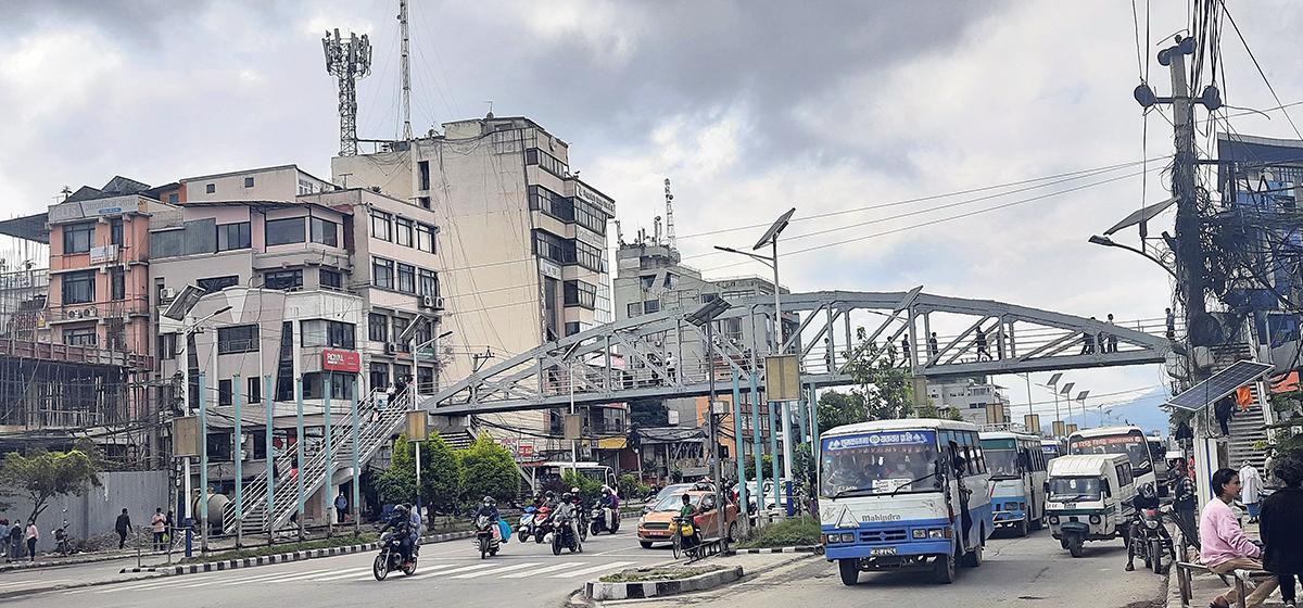 बानेश्वरको आकाशे पुलः तोकिएको समयभन्दा दुई वर्षपछि तयार
