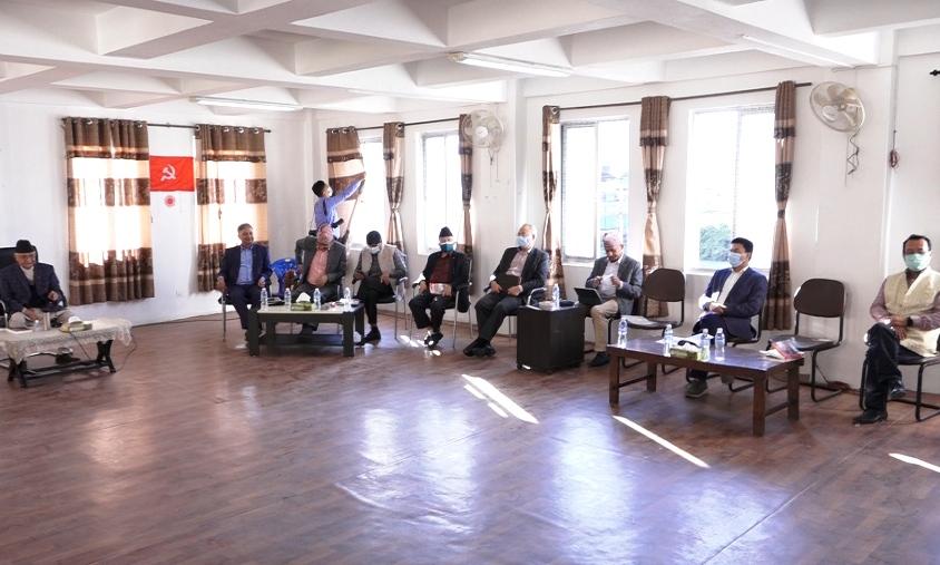 एमालेको १०औं महाधिवेशन चितवनमा, व्यवस्थापनको जिम्मा बादललाई